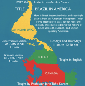 inverted map of the americas